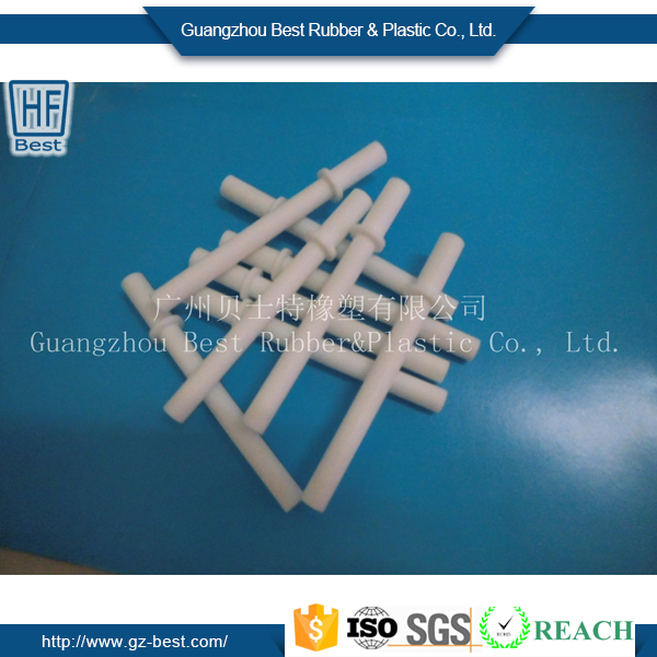 Customized high quality PTFE plastic tube &PTFE rod& washer plastic products