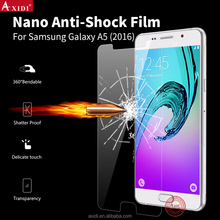 High clear nano anti-shock cartoon screen protector for galaxy A5 2016