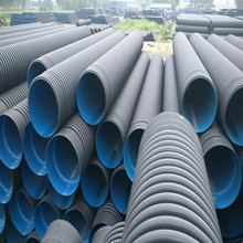 800mm hdpe double wall corrugated PE drainage pipe dwc hdpe plastic culvert pipe prices