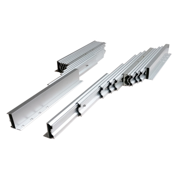 aluminum telescopic extending table slide(extension table mechanism)