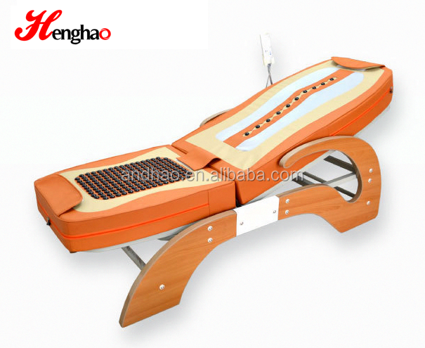 Korean Style thermal jade massage bed electric message roller bed for beauty salon cheap ceragem price