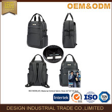 Fashion day school teenage leather laptop backpack bag