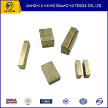 Marble and Granite Tools Parts Tapered Diamond Segment Stone Cutting Tips