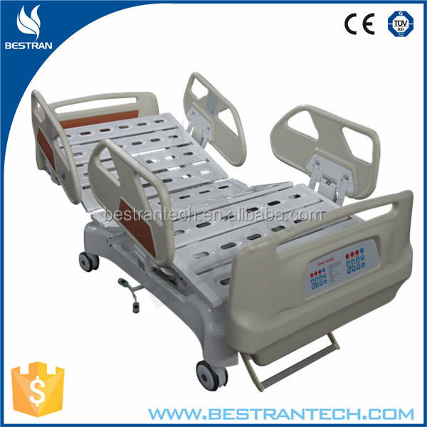 BT-AE021 5-function with guide wheel electric icu disabled beds furniture