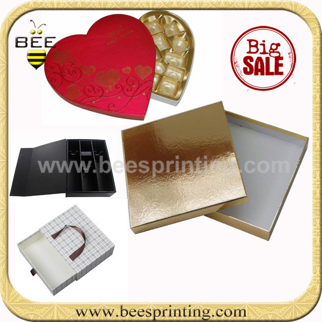 High quality small gift box, vov cosmetic box, PVC window box