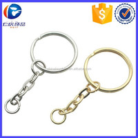 Yiwu Wholesale Novelty Gift Key Ring,Custom Split Key Ring,Metal Key Ring