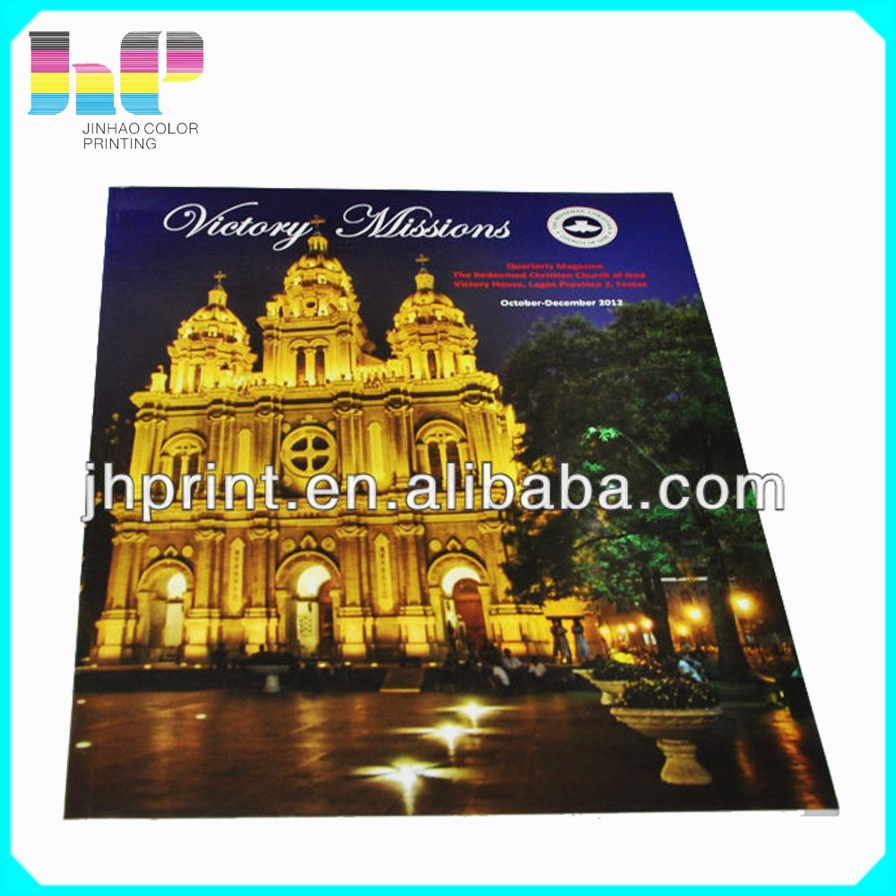 cheap fashionable high quality automatic digital machine offset printing magazine