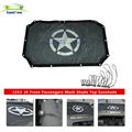 J263 black SUNSHADE Durable Polyester Mesh Bikini Top Cover for 2-Door JK or JKU 2007-2017