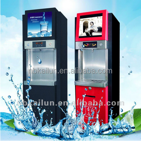 200-800 Gallons With LCD display Card operated media Water Dispenser