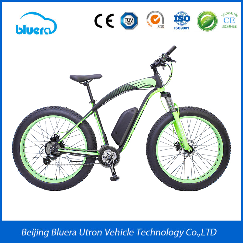 "China 26"" tires fat tyre Beach pedelec ebike with pedals for sale"