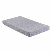 Roll up and compress fire retardant massage memory foam mattress topper 6inch wholesale