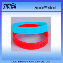 Sample Free China Manufacture Custom Pattern Silicone Wristband