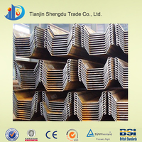 Hot rolled sheet pile