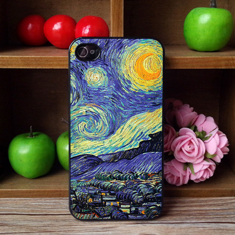 Latest New Sublimation Phone Case for iPhone 4 4s i4 2D Plastic hard Phone Case Quality Choice