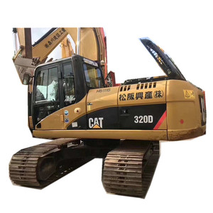 Very cheap caterpillar excavator 320D 320C 320B model complete, additional loader, roller, forklift, crane