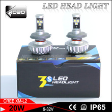 competitive price led headlight bulbs with ETI chips with 40w 3000lm led headlight bulbs for toyota corolla and mazda 6