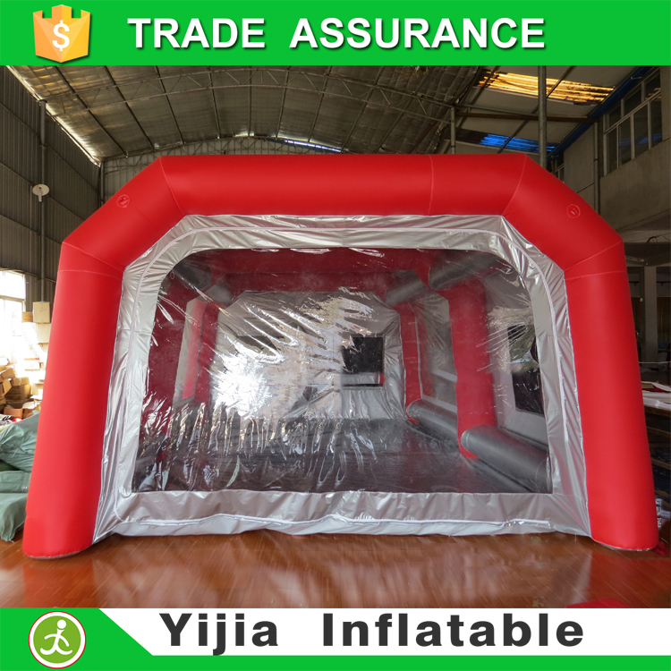 China Supplier CE bake oven inflatable paint booth
