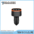 Hot selling factory price led around 3 port usb car charger for mobile phone