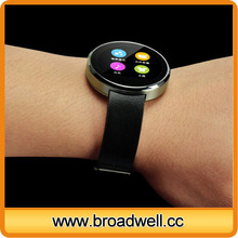 High Qualtiy Circle IPS Screen Bluetooth 4.0 Smart Watch With Heart Rate Monitor For iPhone