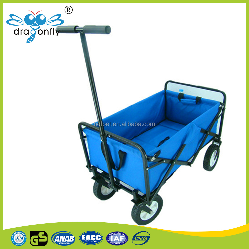 Newest children standard beach cart Foldable Trolley/cart for Home and Garden Use