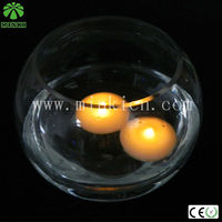 New romantic floating wax led candle tea light