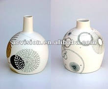 modern home & decor ceramic bud vases