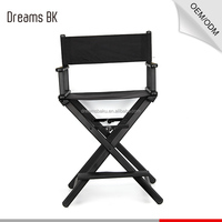 Professional portable salon chair folding director chairs makeup chairs from China factory