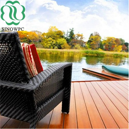 Hot Sale Wpc Anti Uv Lumber Liquidators Composite Decking