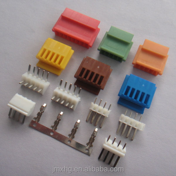 JST XH 2.5mm spacing header,5 pin male and female connector