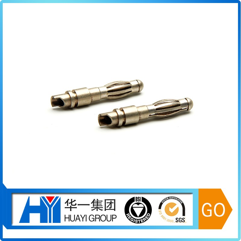 High Voltage 3.5/4mm male and female cross recess banana plug connector