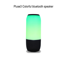 2017 newest wireless outdoor portable colorful led lights pulse3 bluetooth speaker