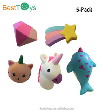 Super Cute Scented Slow Rising Squishy cat burger Toys Keychains Pendant Slow Rising toys