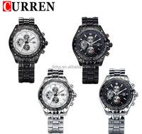 2016 New Coming Design Curren New Style Quartz Watch Mix Color Special Man Wrist Watch
