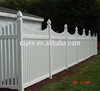 LIFETIME WARRANTY Strong tensile pvc white picket fence pvc fence panel for sale