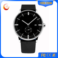 guangzhou watch market custom watches wholesale stainless steel back quartz watch