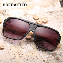 HDCRAFTER fashionable out door new design wooden bamboo temple sunglasses factory direct 2017