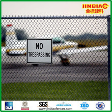 hot galvanzied chain link fence for airport