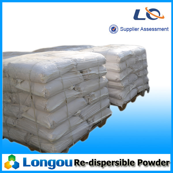 Re-dispersible polymer powder for plaster and putty/coating agent/tile adhesive/plaster-based