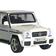 small pull back openable door Benz Alloy car model