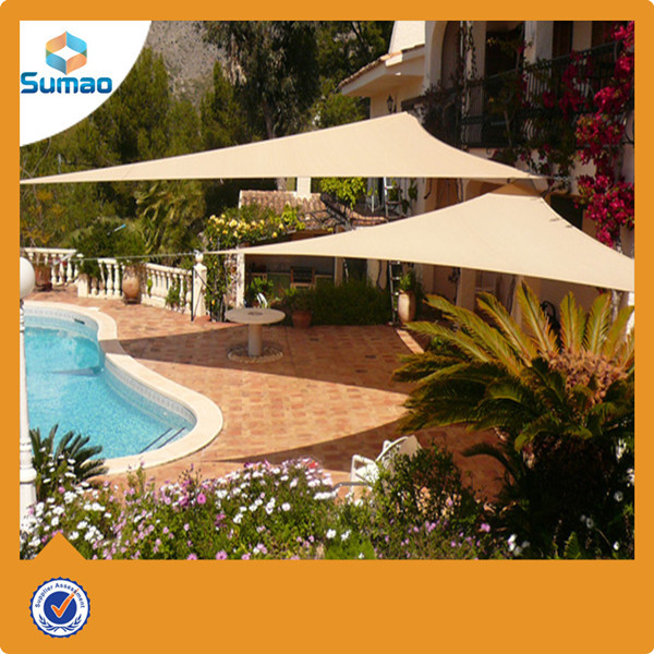 Square sand shade sail net 70 300g excellent