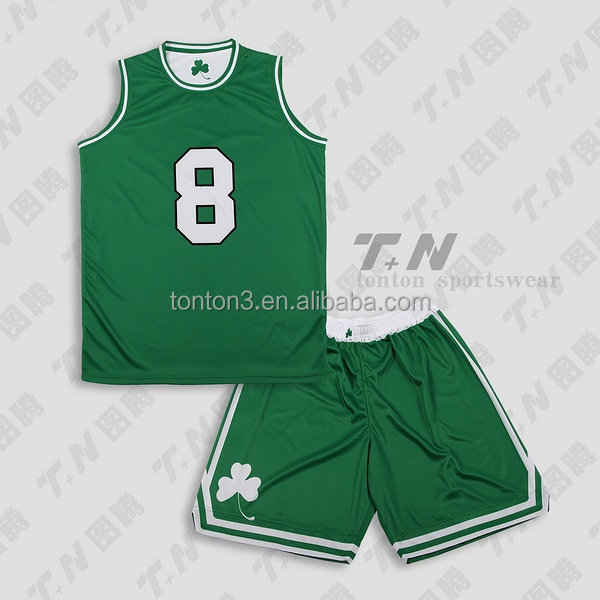 Latest New Tackle Twill Basketball Uniform Embroidery Basketball Jersey Design