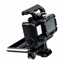 Gopros waterproof case Gopros Black Housing For Gopros Heros4/3+/3 Camera with Bracket,Black Waterproof Case GP28B