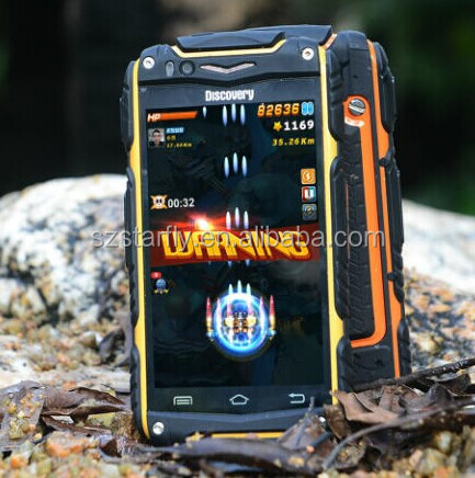 Original 4.0 inch Discovery V8 Android 4.2 3G Phone rugged with MTK6572 Dual Core 4GB Rom 5.0MP Camera WCDMA FM
