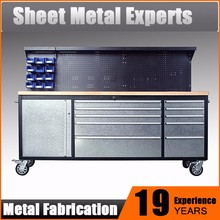 New design heavy duty metal work tables metal workshop table