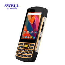 SWELL N2:cell rugged smart phone 3G small size mobile phone Android 6.0 os IPS screen Outdoor Sensors with Keypad