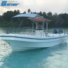 Gather 32ft fiberglass fishing boat panga boat for sale