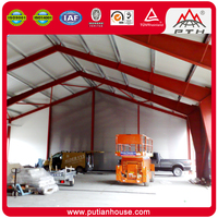Easy build affordable EPS/PU/XPS sandwich panel prefab bar