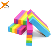 rainbow eraser for pencil eraser raw material