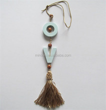 Air Freshener Cute Car Hanging With Tassel Aroma Stone,Fragrance Plaster,Scented Clay