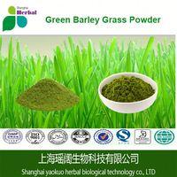 Green Organic Wheatgrass/Barley grass/Alfalfa/ whole Food Supplements Powder 113 gms
